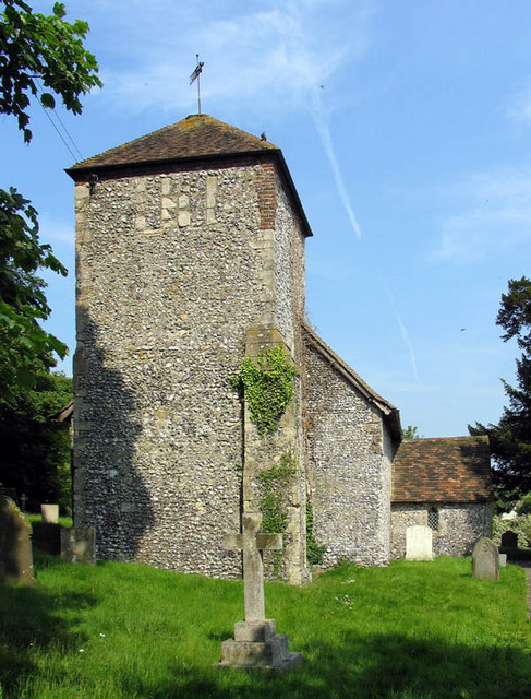 St Mary, Lydden, Kent - Tower