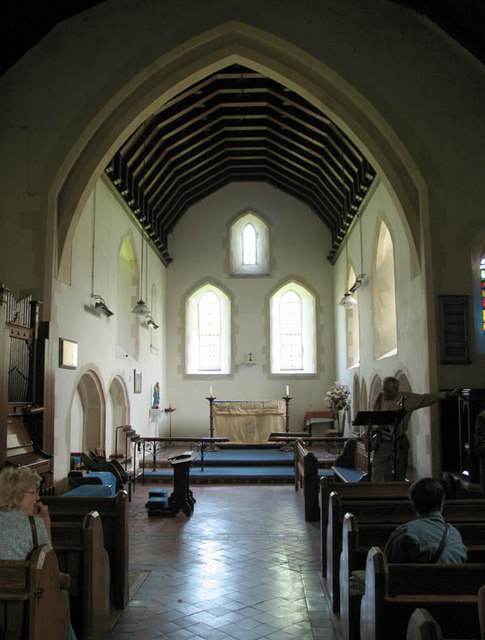 St Mary, Lydden, Kent - East end