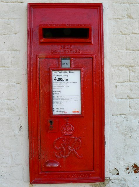 Burbage postbox