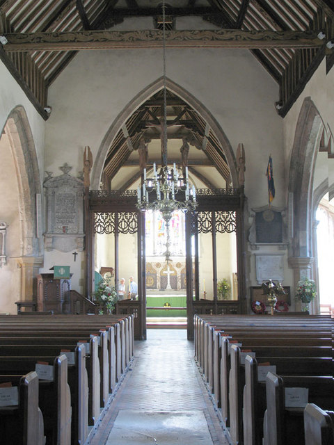 St Peter & St Paul, Charing, Kent - East end