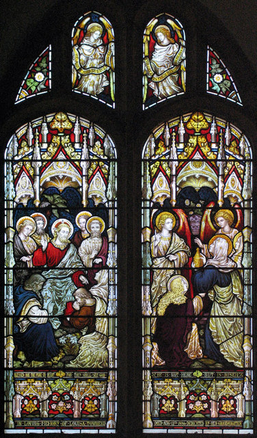 St Peter & St Paul, Charing, Kent - Window