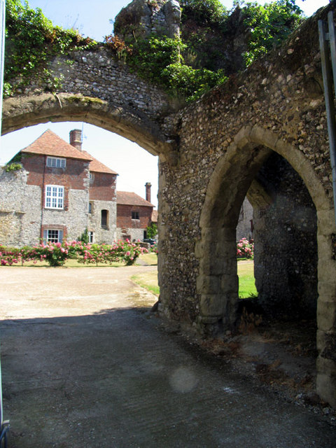 Archway to house, Charing, Kent
