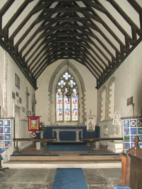 St Mary, Lenham, Kent - Chancel
