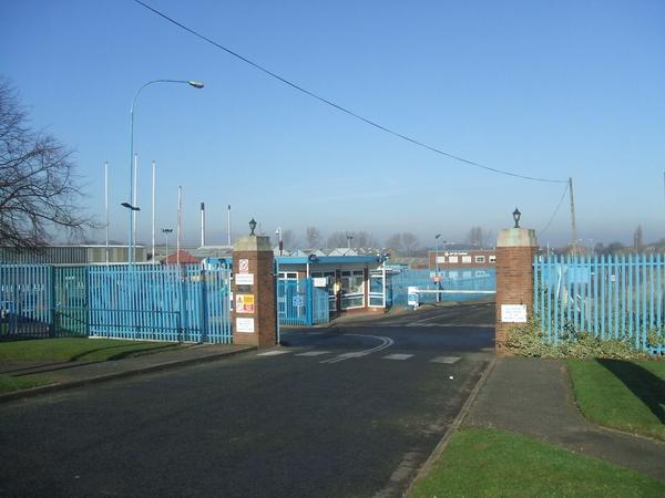 Factory Entrance
