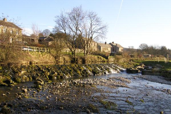Weir & Fish Pass on the Lyvennet
