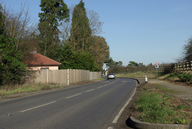 A227 South of Meopham Green