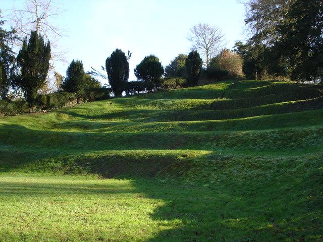 Earthworks - Moot Gardens, Downton