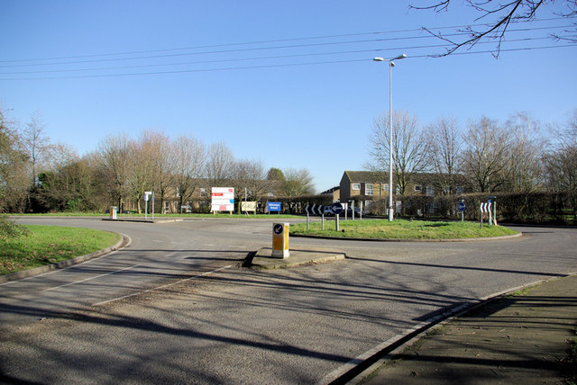 Roundabout, New Ash Green