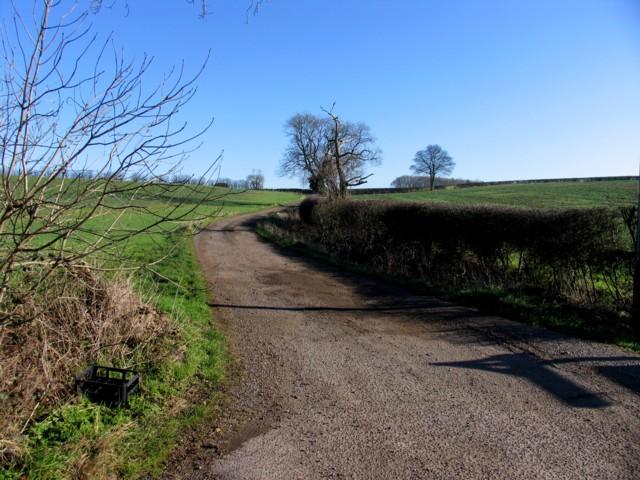 Entrance to High Barn Farm