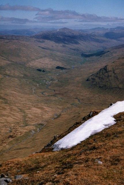 View towards Glen Lochay