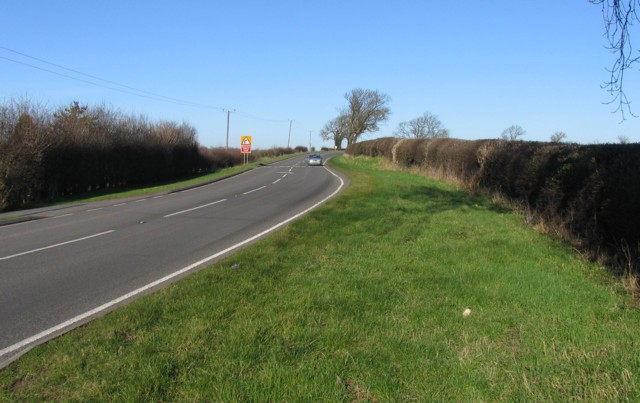 A453 towards Isley Walton