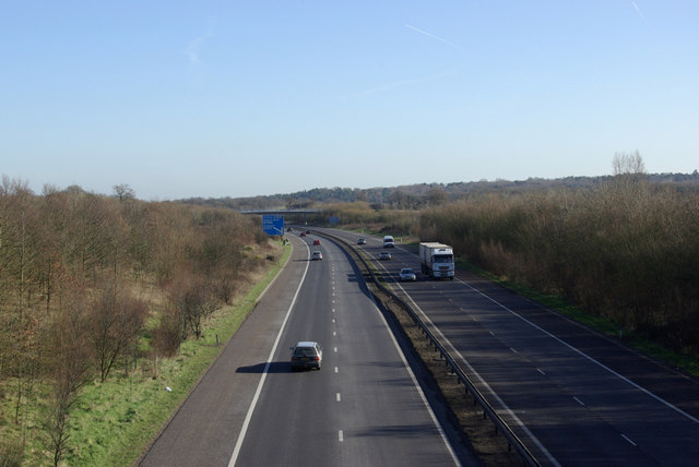 M26 towards the East