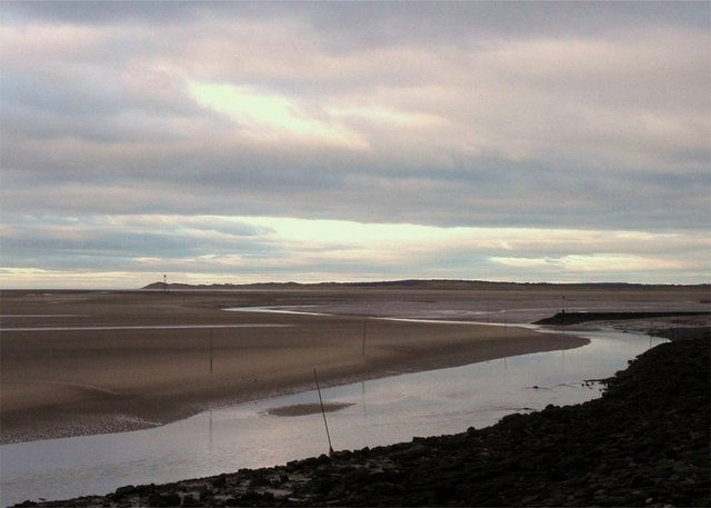 Alt estuary at low tide