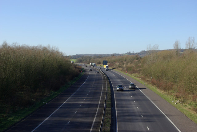 M26 towards the West