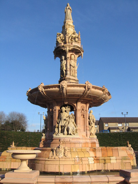 Doulton Fountain, Glasgow Green