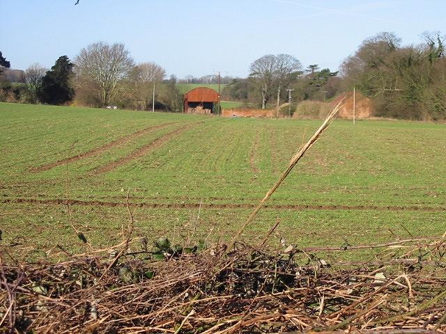 Stoneheap Farm from Stoneheap Road