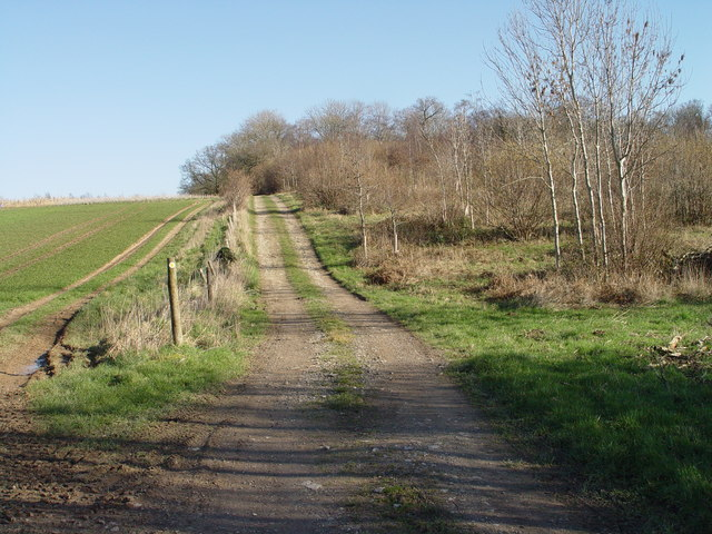 Track up Rushton Hill