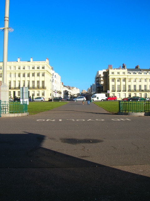 View from the Shelter, Hove Sea Wall