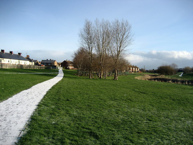 Path by River Don at Boldon