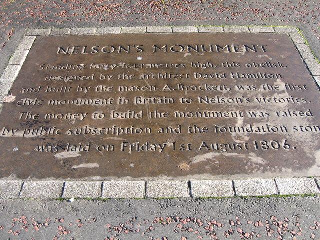 Nelson' monument