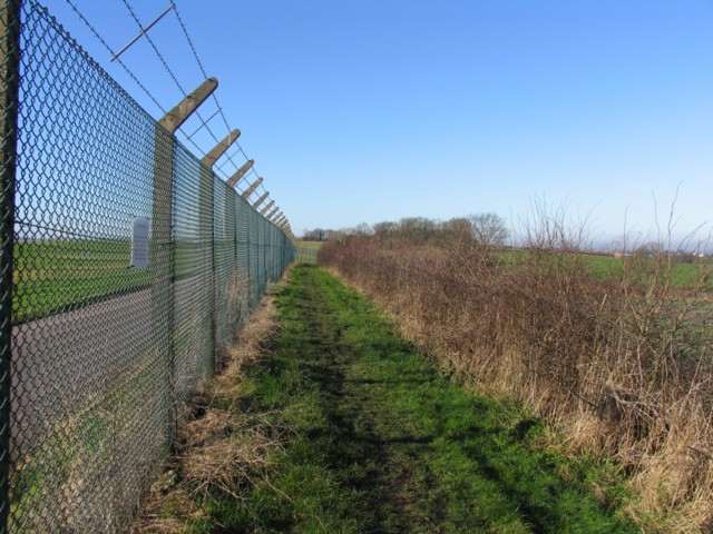 East Midlands Airport perimeter walk