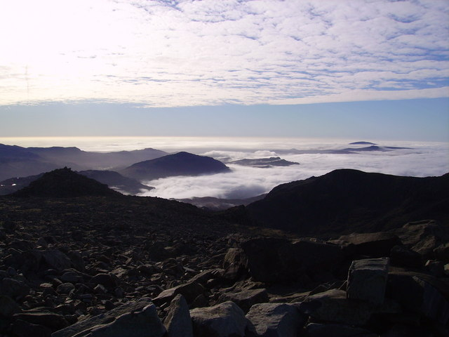 From Scafell Pike Summit