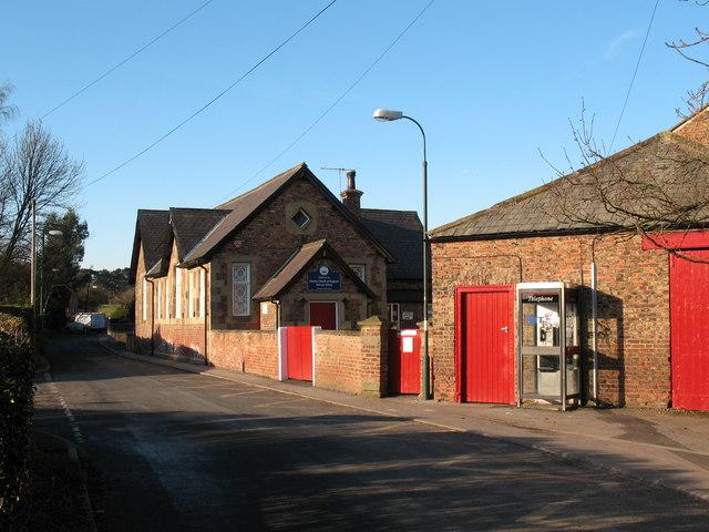 Village school at Sharow
