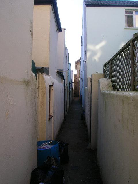 Victoria Cottages Back Alley