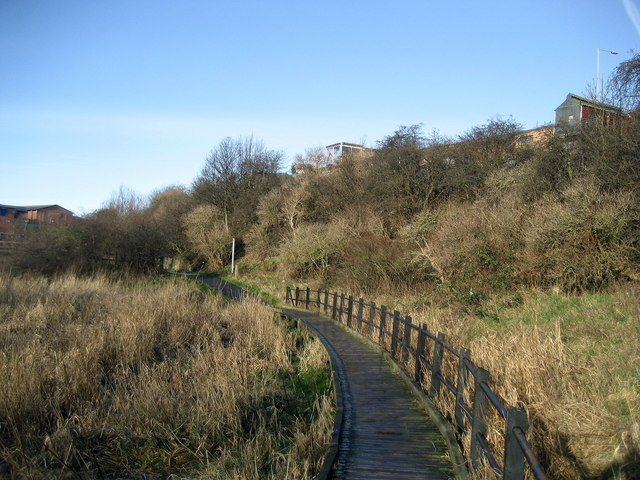 Causeway by the River Don