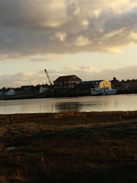 The River Yare, Great Yarmouth, Norfolk
