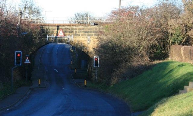 Railway Bridge, Saltburn Lane