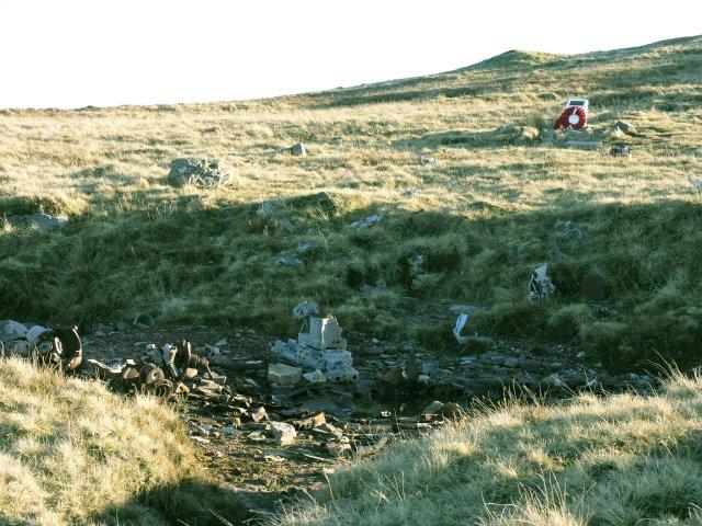 Lancaster bomber crash site