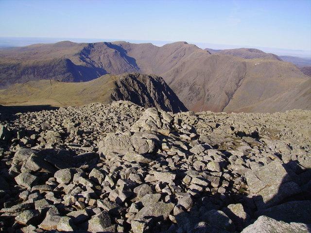 On Broad Crag