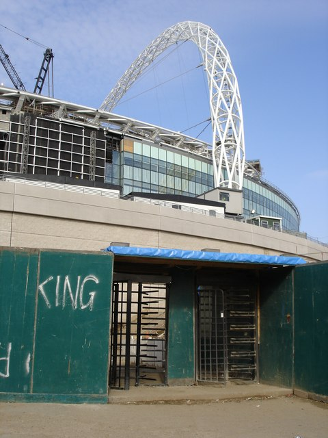 The Old and the New - Wembley Stadium