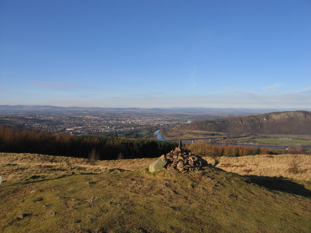 Summit Cairn on Moncreiffe Hill - 223m