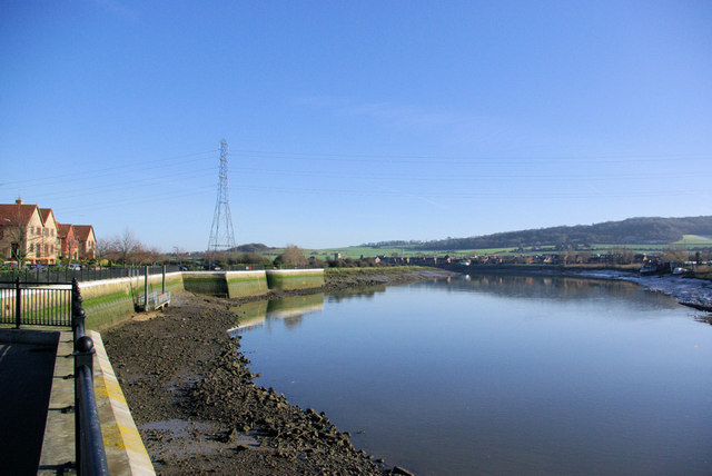 River Medway at Halling