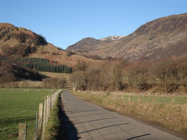 Entrance to Glen Lyon