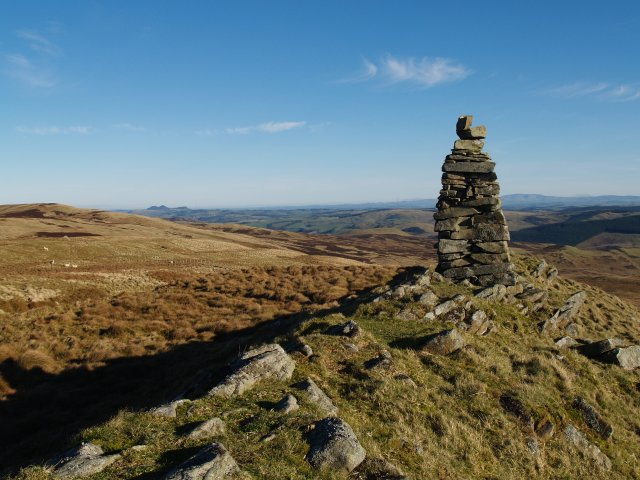 Summit Cairn, Scar Hill.