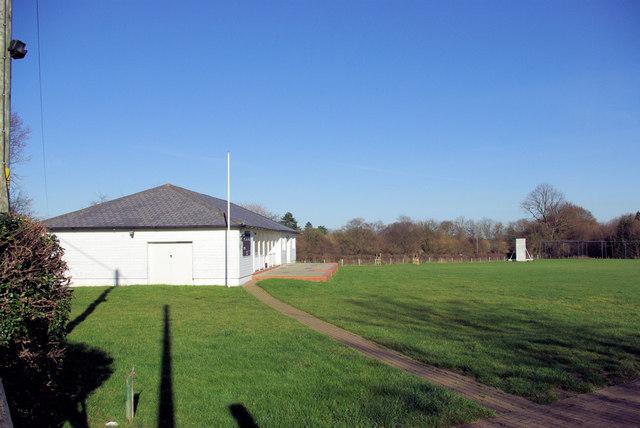 Cricket Pavilion, Harvel