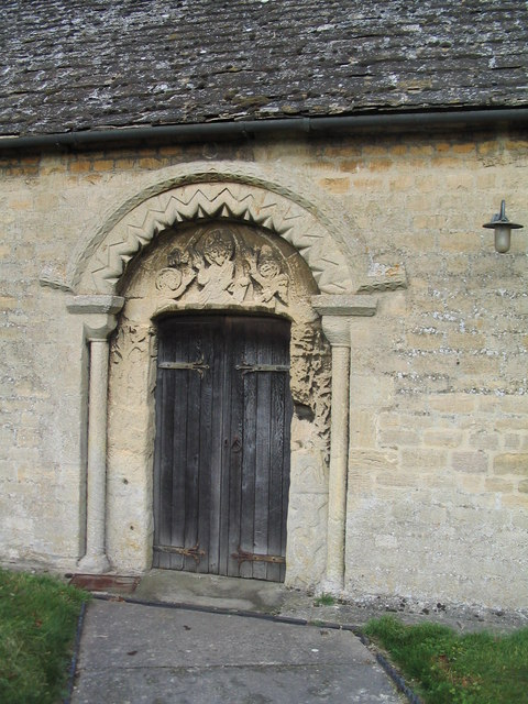 Tympanum, Church of St Mary, Essendine