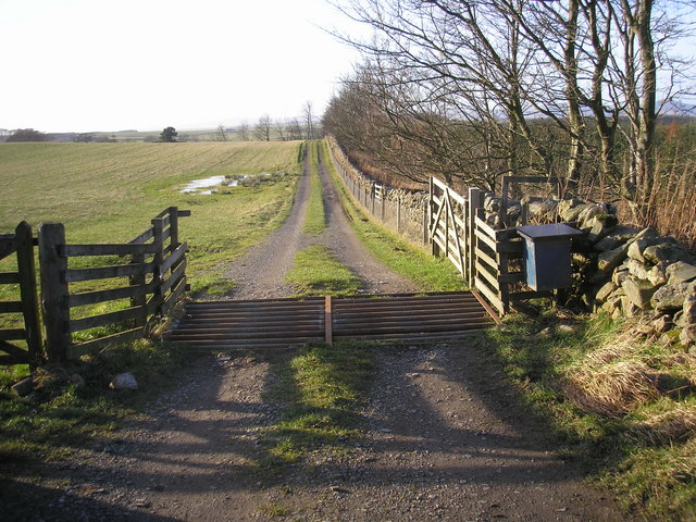 The track to Howburn