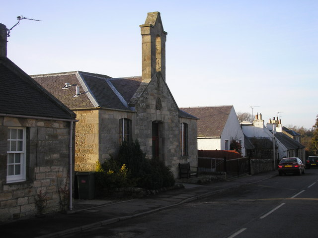 The former Parish Church in Temple