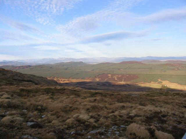 Perthshire Hillside