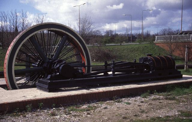 Steam engine, Ellesmere Port