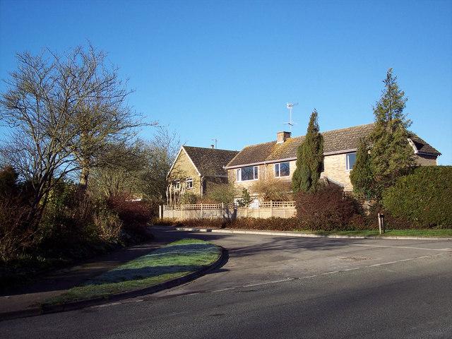 The Croft from Harvest Lane, Bishopstone