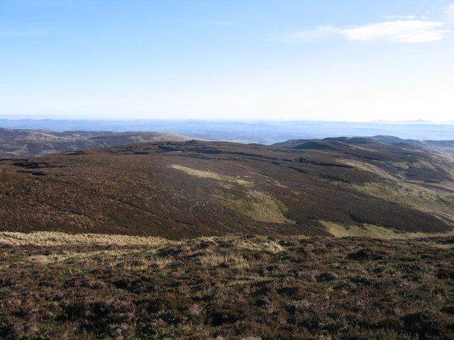 South-east ridge of Meall nan Caorach