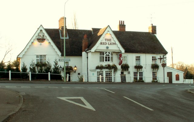 'The Red Lion' inn at Martlesham, Suffolk