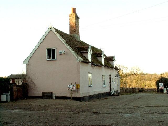 Farmhouse at Beaconhill Farm