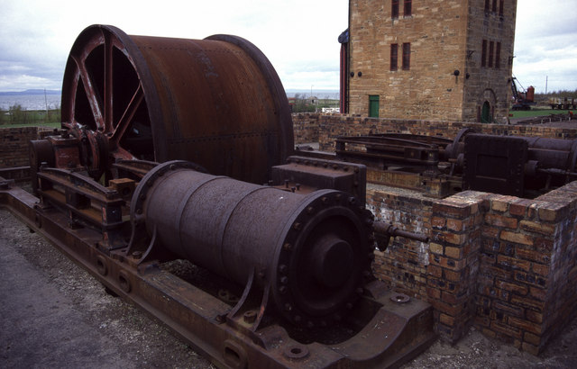 Steam winding engine, Prestongrange