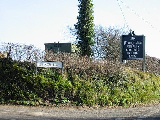 Church Lane off Chapel Lane, Ripple